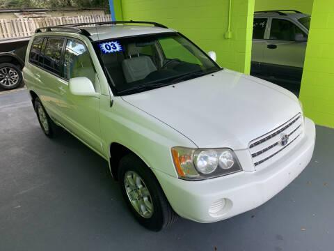 2003 Toyota Highlander for sale at Autos to Go of Florida in Daytona Beach FL