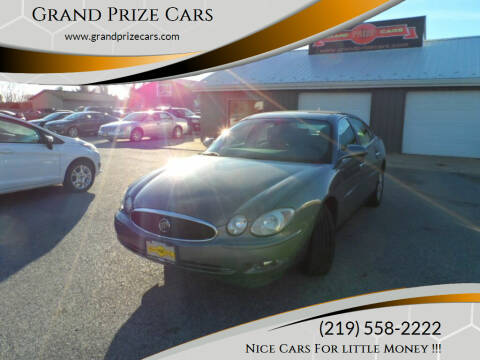 2007 Buick LaCrosse for sale at Grand Prize Cars in Cedar Lake IN