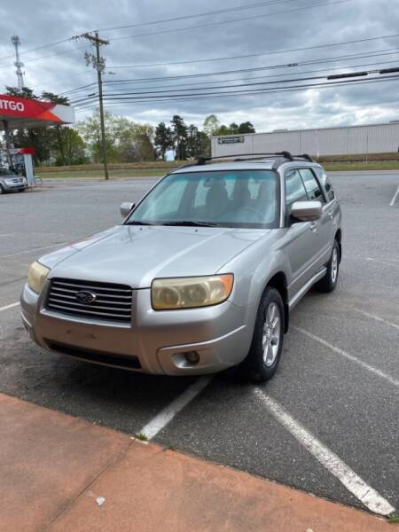 2007 Subaru Forester for sale at S & H AUTO LLC in Granite Falls NC
