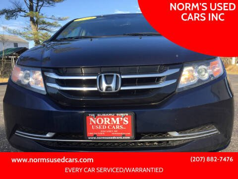 2014 Honda Odyssey for sale at NORM'S USED CARS INC in Wiscasset ME