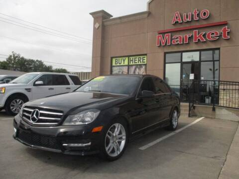 2014 Mercedes-Benz C-Class for sale at Auto Market in Oklahoma City OK