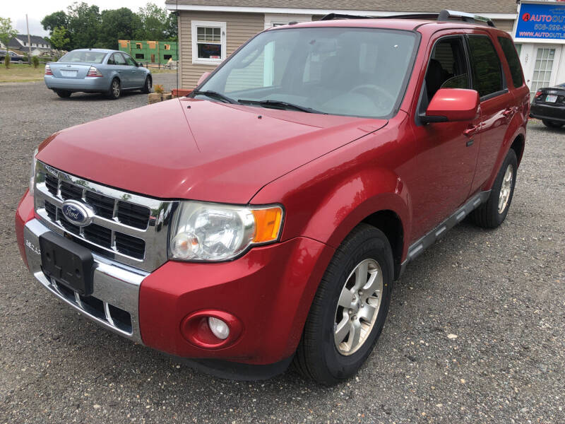2010 Ford Escape for sale at AUTO OUTLET in Taunton MA