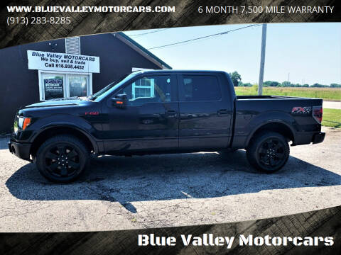 2012 Ford F-150 for sale at Blue Valley Motorcars in Stilwell KS