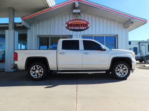 2014 GMC Sierra 1500 for sale at Motorsports Unlimited in McAlester OK