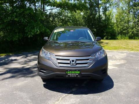 2014 Honda CR-V for sale at L & R Motors in Greene ME