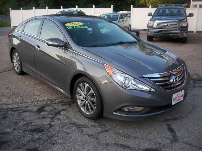 2014 Hyundai Sonata for sale at Charlies Auto Village in Pelham NH