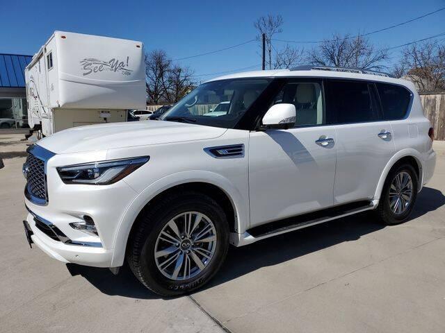 2021 Infiniti QX80 for sale at Kell Auto Sales, Inc - Grace Street in Wichita Falls TX