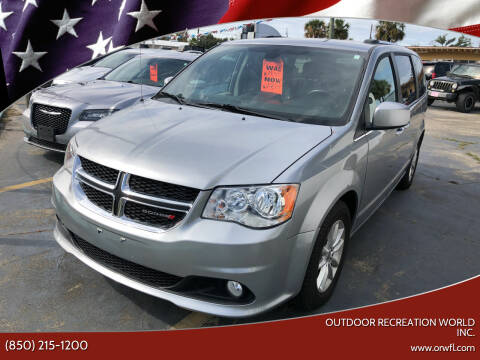 2019 Dodge Grand Caravan for sale at Outdoor Recreation World Inc. in Panama City FL