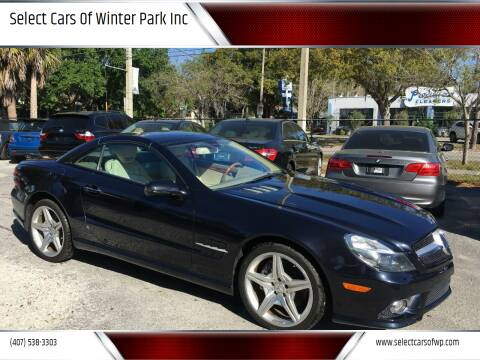 2009 Mercedes-Benz SL-Class for sale at Select Cars Of Winter Park Inc in Orlando FL