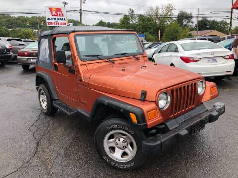 2001 Jeep Wrangler for sale at KB Auto Mall LLC in Akron OH