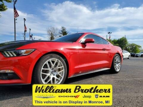 2015 Ford Mustang for sale at Williams Brothers - Pre-Owned Monroe in Monroe MI