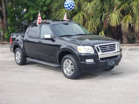 2008 Ford Explorer Sport Trac for sale at United Auto Center in Davie FL