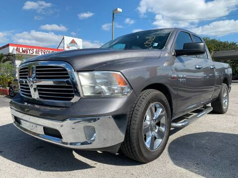 2015 RAM Ram Pickup 1500 for sale at Always Approved Autos in Tampa FL