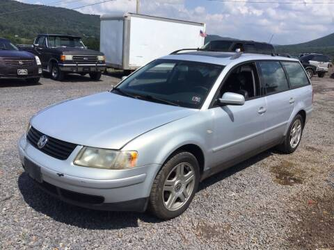 2001 Volkswagen Passat for sale at Troys Auto Sales in Dornsife PA