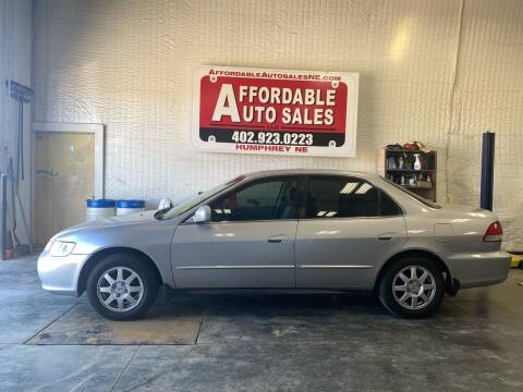 2002 Honda Accord for sale at Affordable Auto Sales in Humphrey NE