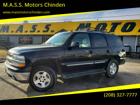 2005 Chevrolet Tahoe for sale at M.A.S.S. Motors Chinden in Garden City ID