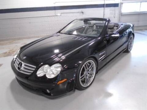 2005 Mercedes-Benz SL-Class for sale at Luxury Car Outlet in West Chicago IL