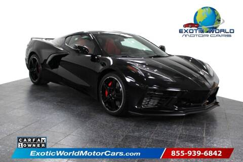 2020 Chevrolet Corvette for sale at Exotic World Motor Cars in Addison TX
