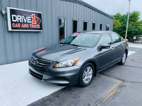 2011 Honda Accord for sale at Drive 1 Car & Truck in Springfield OH