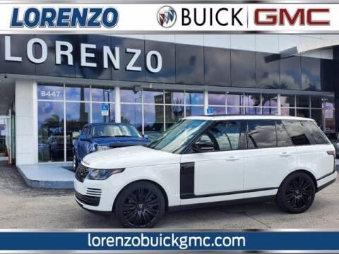 2020 Land Rover Range Rover for sale at Lorenzo Buick GMC in Miami FL