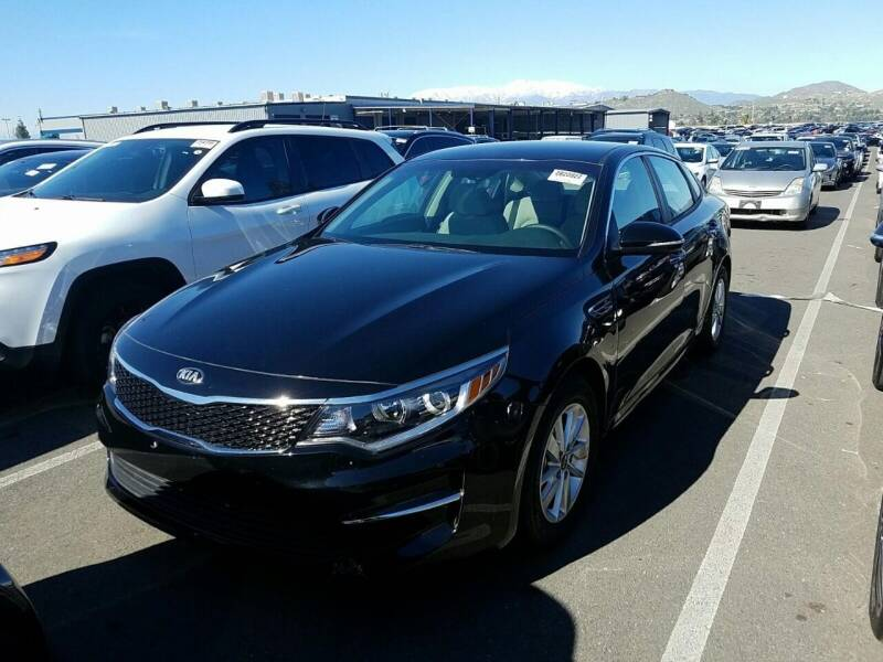 2018 Kia Optima for sale at Spartan Auto Sales in Upland CA