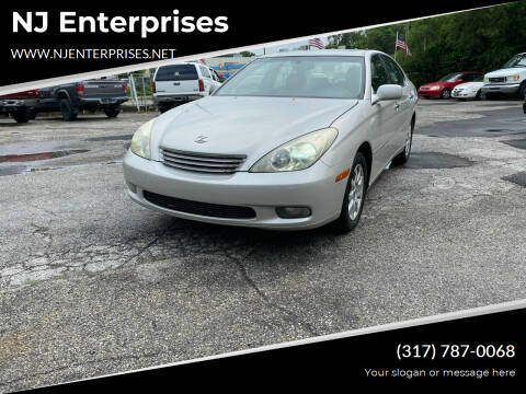 2002 Lexus ES 300 for sale at NJ Enterprises in Indianapolis IN