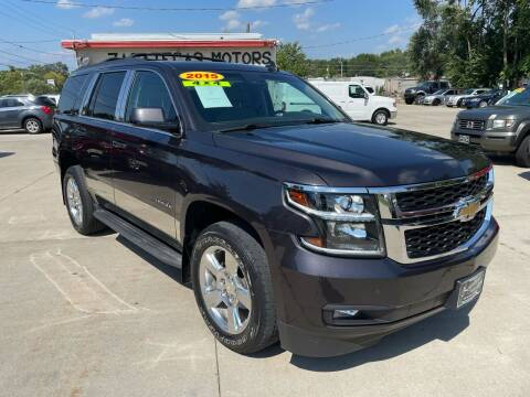 2015 Chevrolet Tahoe for sale at Zacatecas Motors Corp in Des Moines IA