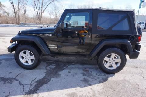 2012 Jeep Wrangler for sale at patrick kelley in Bonner Springs KS