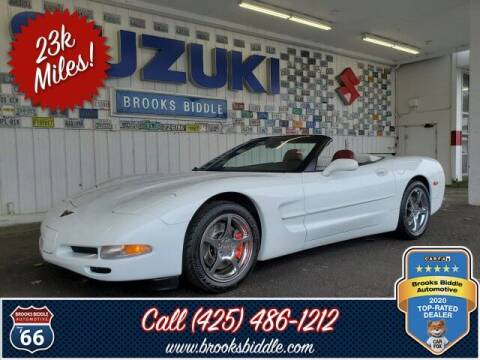 1998 Chevrolet Corvette for sale at BROOKS BIDDLE AUTOMOTIVE in Bothell WA