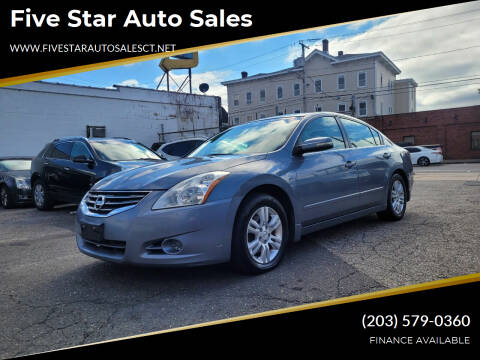 2010 Nissan Altima for sale at Five Star Auto Sales in Bridgeport CT