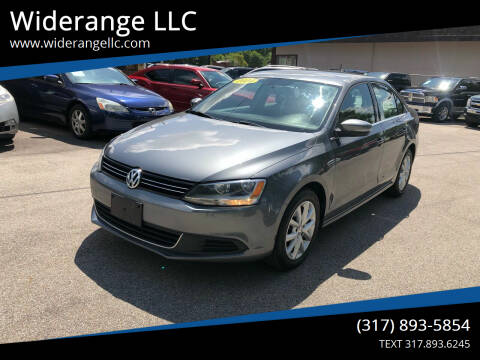 2014 Volkswagen Jetta for sale at Widerange LLC in Greenwood IN