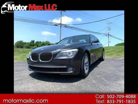2011 BMW 7 Series for sale at Motor Max Llc in Louisville KY