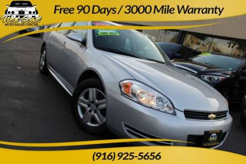 2009 Chevrolet Impala for sale at West Coast Auto Sales Center in Sacramento CA