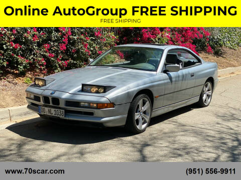1997 BMW 8 Series for sale at Online AutoGroup FREE SHIPPING in Riverside CA