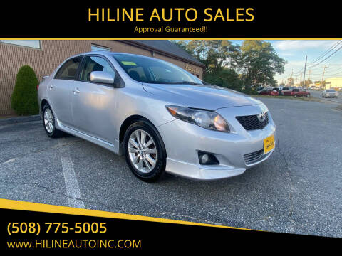 2010 Toyota Corolla for sale at HILINE AUTO SALES in Hyannis MA