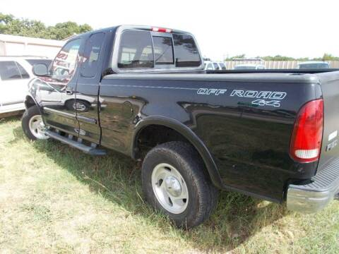 2001 Ford F-150 for sale at OTTO'S AUTO SALES in Gainesville TX