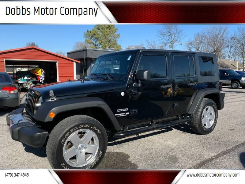 2010 Jeep Wrangler Unlimited for sale at Dobbs Motor Company in Springdale AR