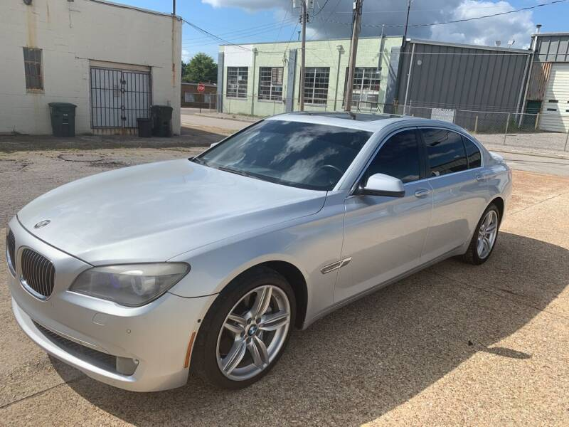 2011 BMW 7 Series for sale at Memphis Auto Sales in Memphis TN