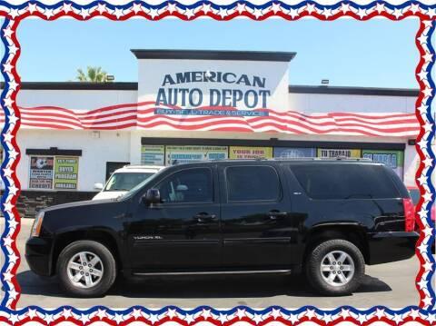 2014 GMC Yukon XL for sale at American Auto Depot in Modesto CA