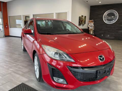 2010 Mazda MAZDA3 for sale at Evolution Autos in Whiteland IN