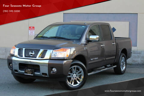2014 Nissan Titan for sale at Four Seasons Motor Group in Swampscott MA