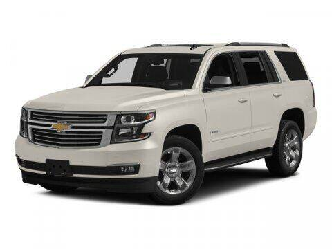 2015 Chevrolet Tahoe for sale at Hawk Ford of St. Charles in St Charles IL