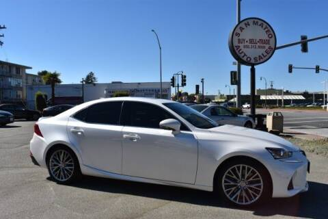 2019 Lexus IS 300 for sale at San Mateo Auto Sales in San Mateo CA