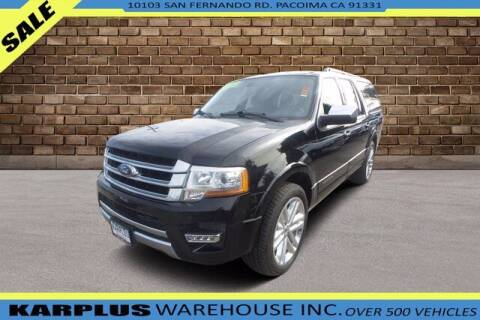 2017 Ford Expedition EL for sale at Karplus Warehouse in Pacoima CA