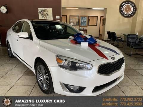 2015 Kia Cadenza for sale at Amazing Luxury Cars in Snellville GA