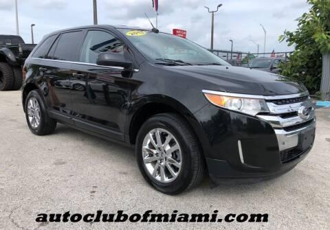 2013 Ford Edge for sale at AUTO CLUB OF MIAMI, INC in Miami FL