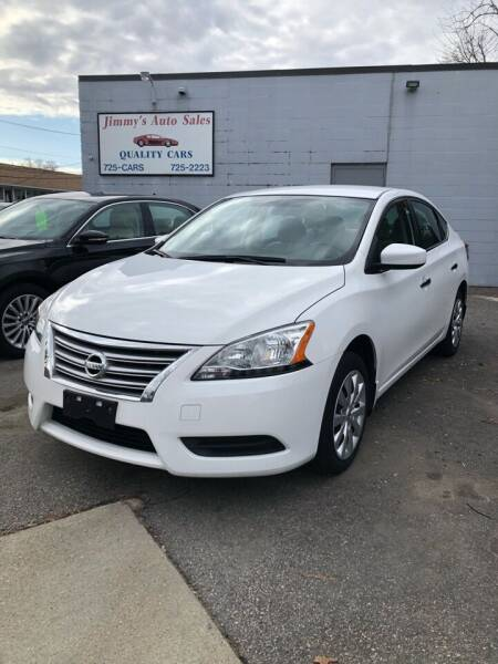 2015 Nissan Sentra for sale at Jimmys Auto Sales in North Providence RI