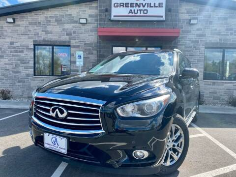 2015 Infiniti QX60 for sale at GREENVILLE AUTO in Greenville WI