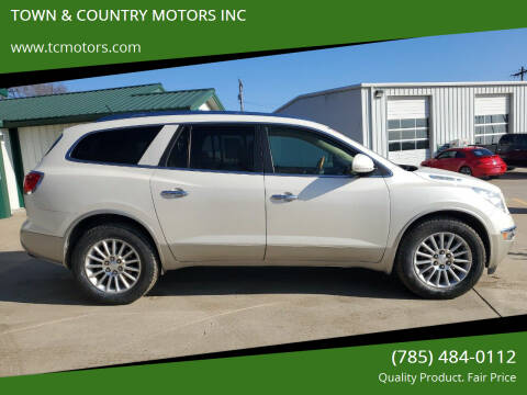 2012 Buick Enclave for sale at TOWN & COUNTRY MOTORS INC in Meriden KS