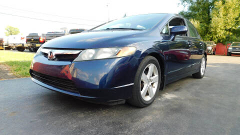 2008 Honda Civic for sale at Action Automotive Service LLC in Hudson NY